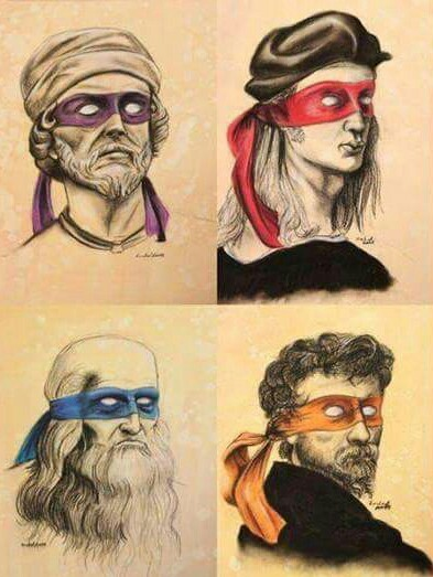 Would you have known  the names without the masks? You are a nerd - meme