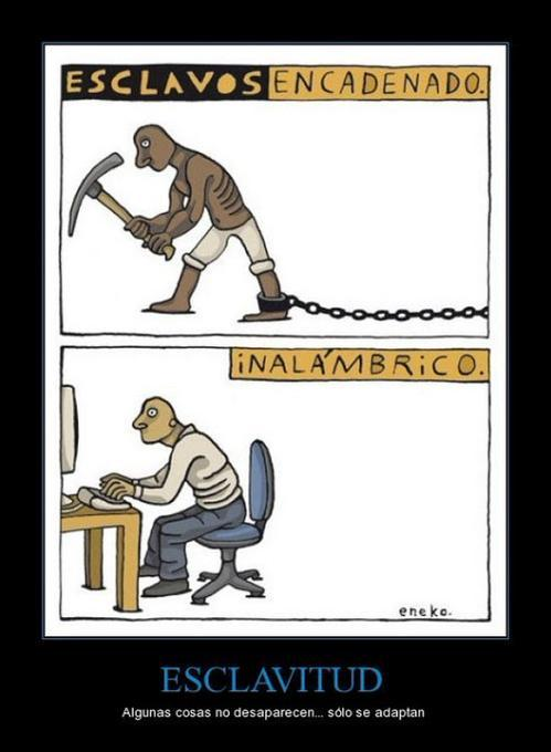 Esclavo - meme