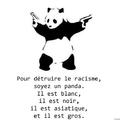 Stop racisme... On a trouver la solution...! Seul Pandaaa peut le faire