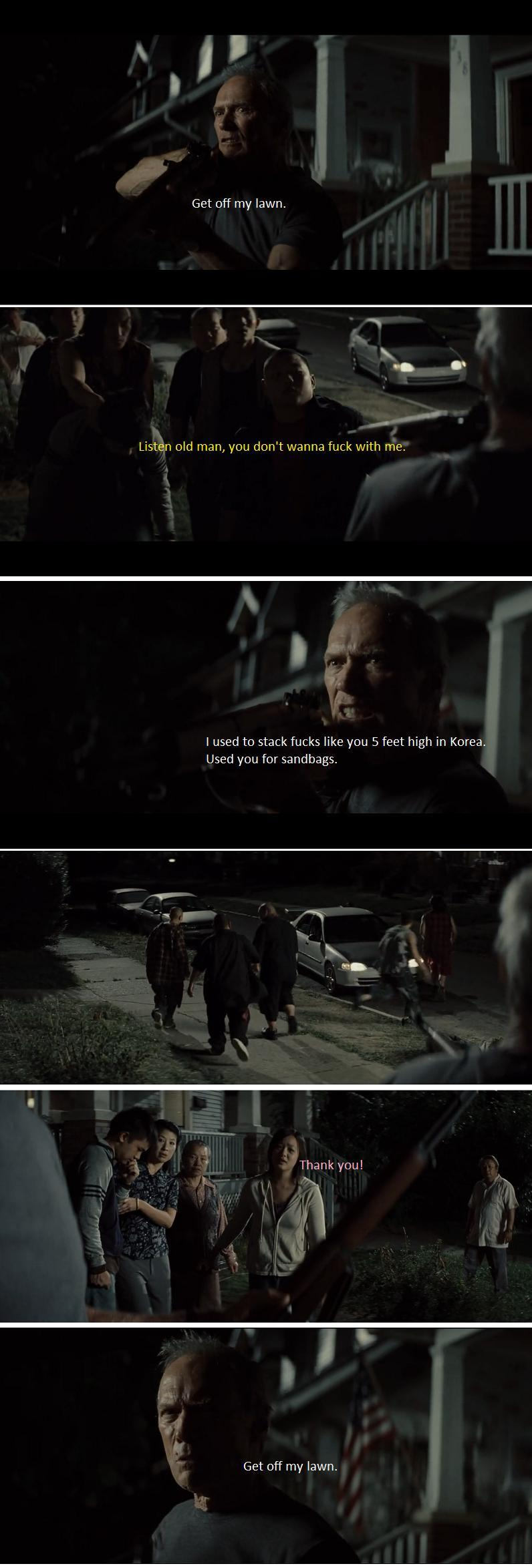 Movie:Gran Torino - meme