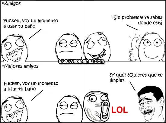 Amigos - meme