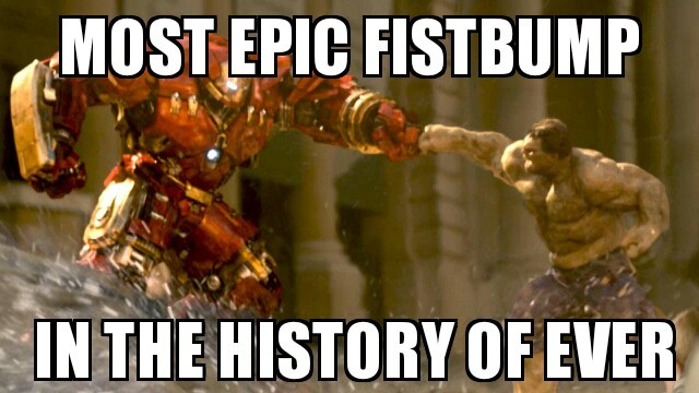 FIST BUMP - meme