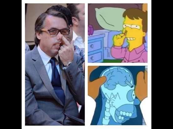Presidente de televisa una cadena televisiva en México - meme
