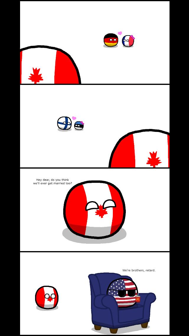 Poor Canada... - meme