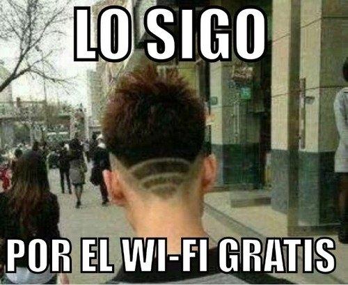 WiFi es WiFi - meme