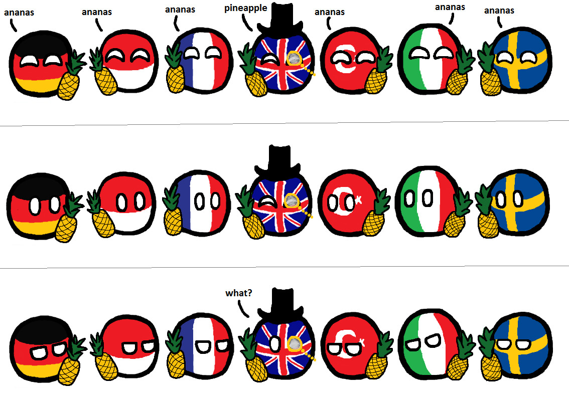 """Nuova serie """"Polandball"""" ep.1 di 5 cito Pfpfpfpf se non vi piace non fate passare - meme"""