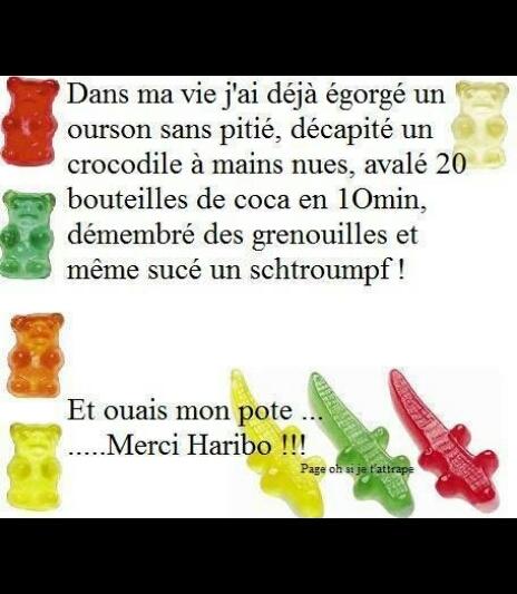 Haribo  C est beau la vie! - meme