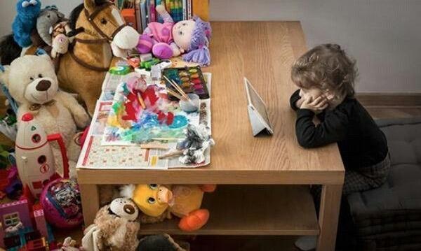 Les enfants avant/maintenant - meme