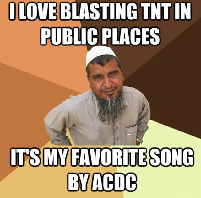 Cause i'm TNT and dynamite! - meme