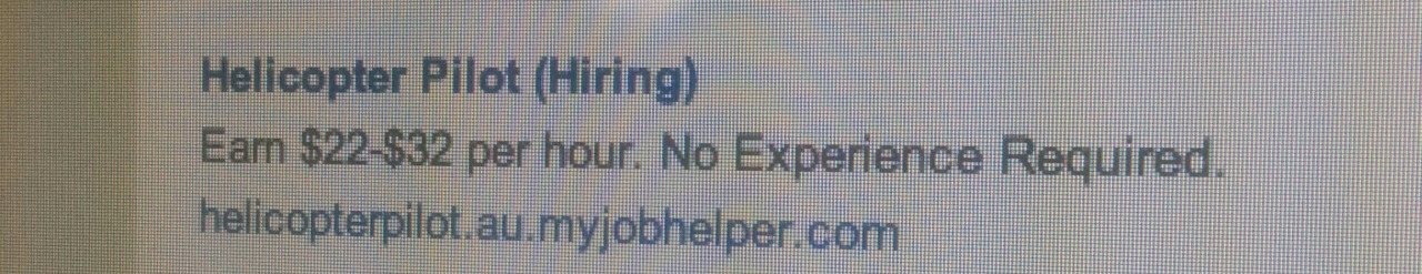 ... A) No experience? That's scary. B) I'm off to get my pilot's license. - meme