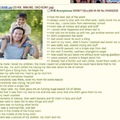 Sometimes, there's funny 4chan stories, other times, there's just feels...