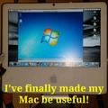 I got this Mac for free.                    PC master race!