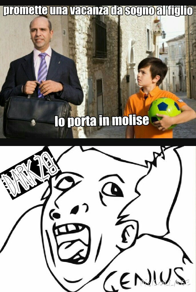 Sole a catinelle - meme