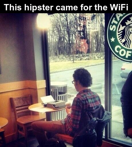 Hipsters need to be euthanised with a coffee enema - meme