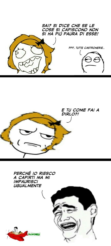 """Rage """"Vecchio"""" stile ;) - meme"""