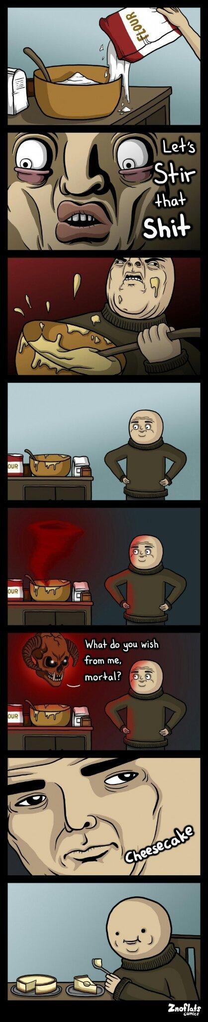 Cheesecake - meme
