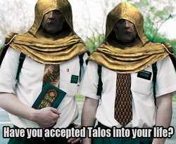 FILTHY TALOS WORSHIPPERS... ELVEN SUPREMACY IS THE ONLY TRUTH - meme