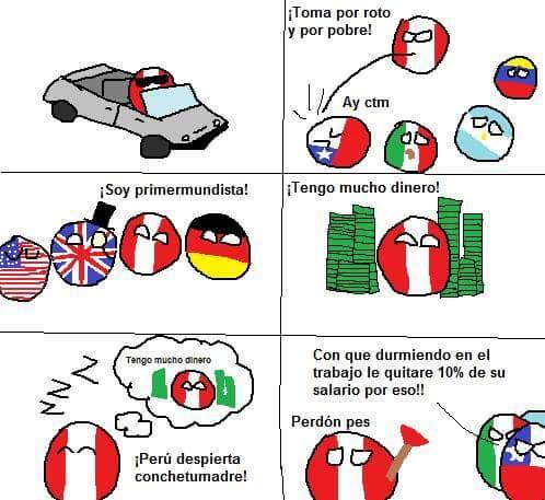 Pobre Peru :v - meme