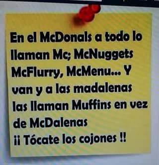 Mcdonals - meme