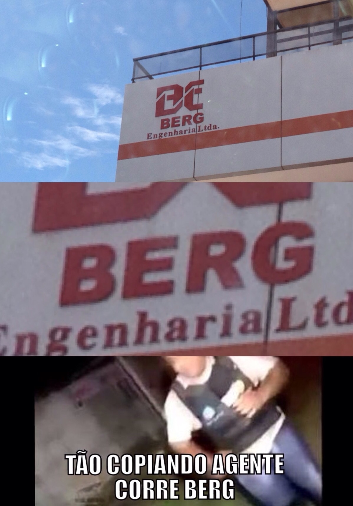 Corre Berg! - meme