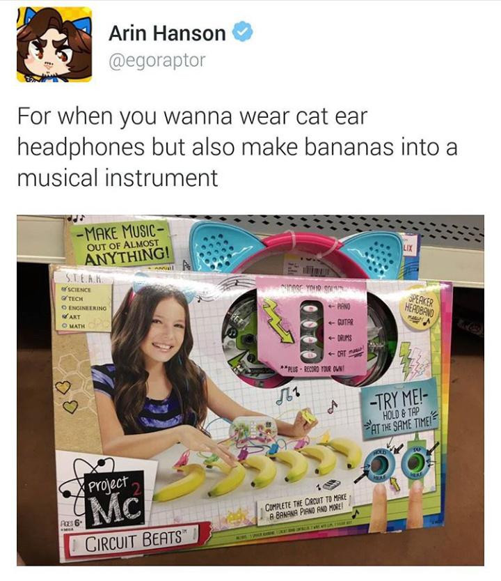 D-D-D-D-DROP THE banana. - meme