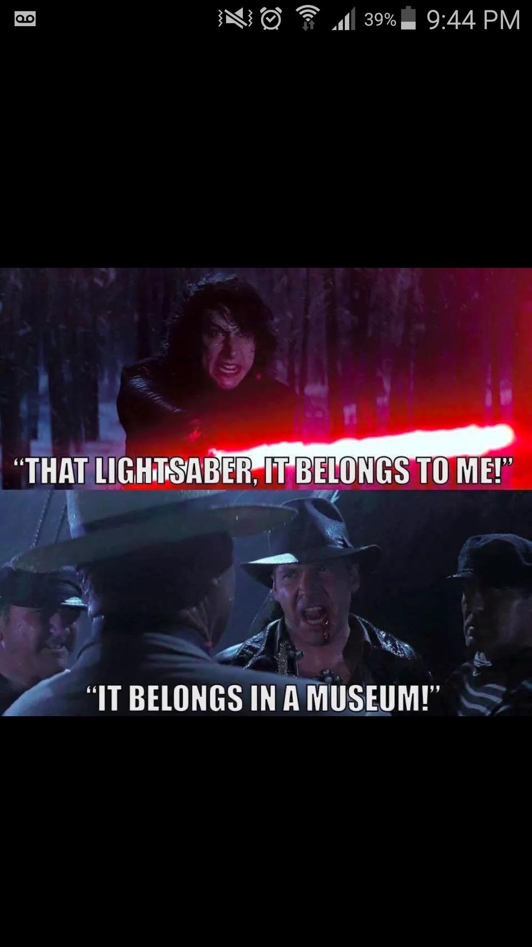 Saber - meme