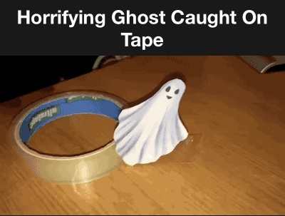 scary ghost - meme