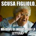 Mia nonna è cosí ;)