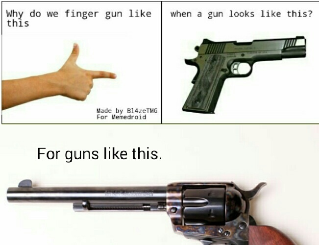 Not a repost, don't shoot! - meme