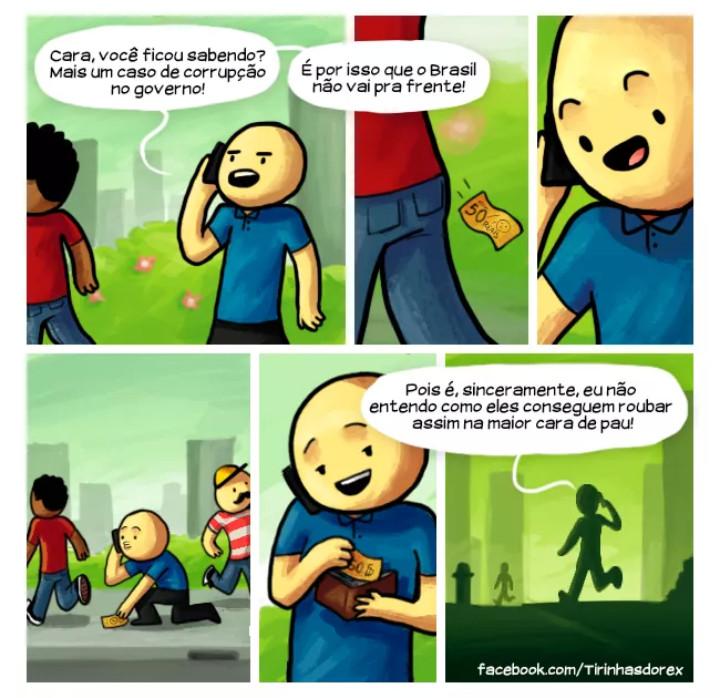Educação é o princípio - meme