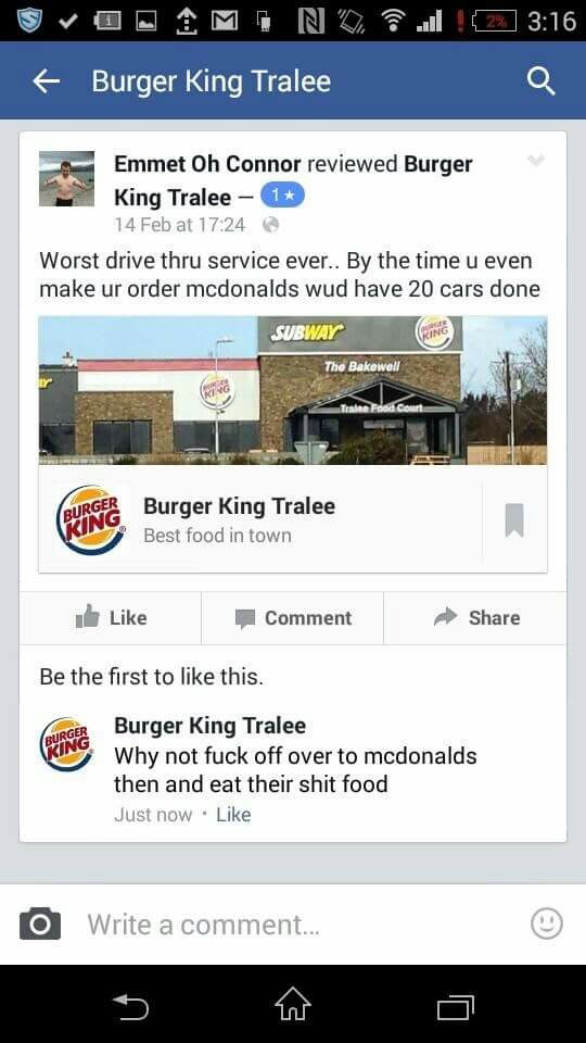 Burger King has no chill... - meme