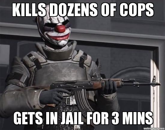 Payday 2 - meme