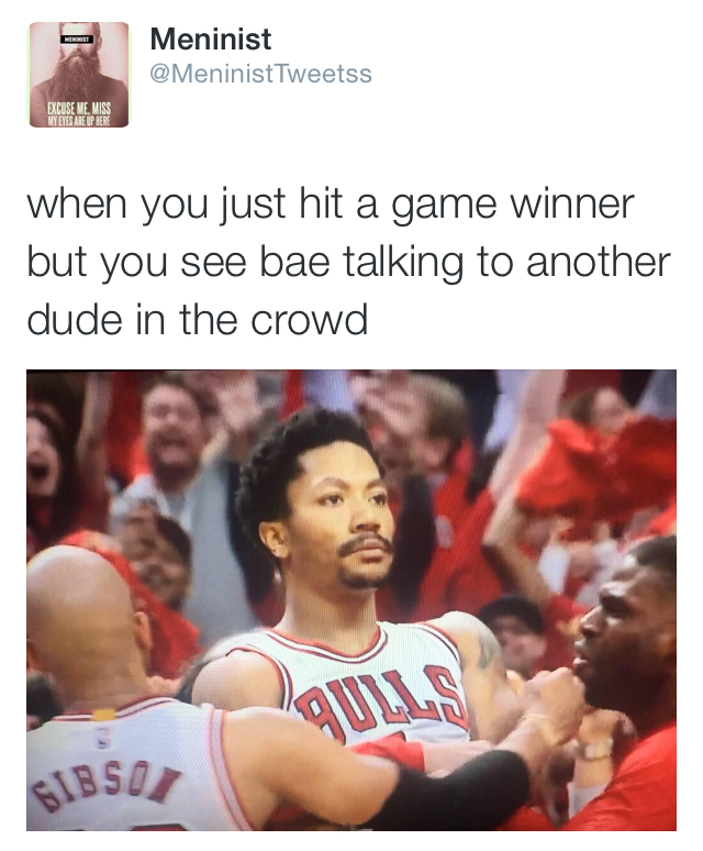 Bulls v. Warriors in the finals - meme