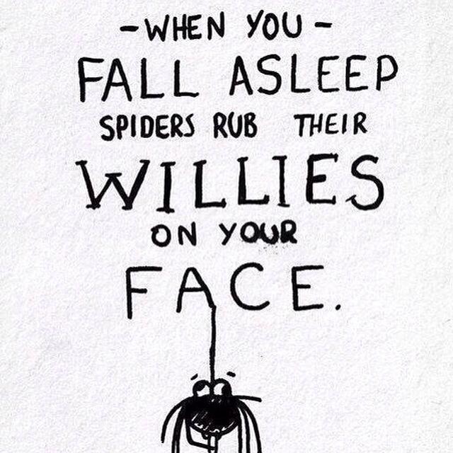 Don't fall asleep - meme