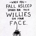 Don't fall asleep