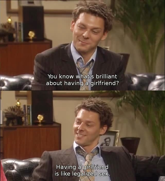 Jeff from coupling is awesome - meme
