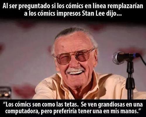 Stan Lee es el amo - meme