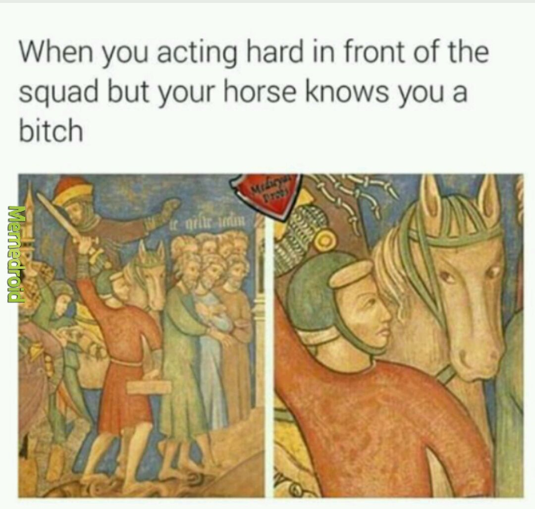 Bitch ass - meme