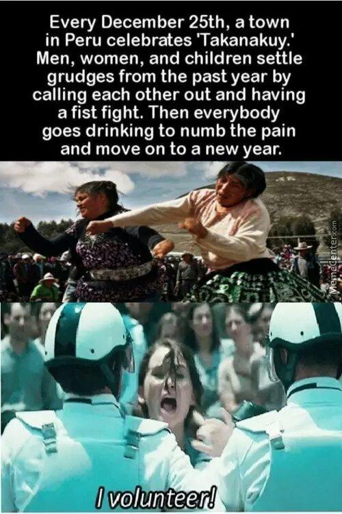 i volunteer - meme