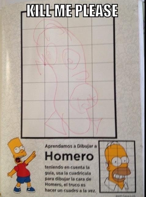 XD Homero - meme