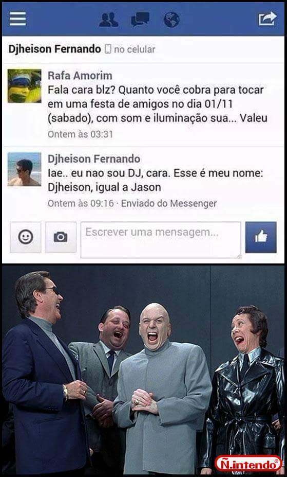 Tipo Jason - meme