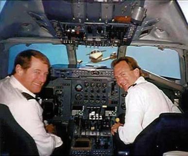 Nova prova de dentro da cabine de pilotos do Boeing da Gol que se chocou com o jatinho do EUA em 2006 - meme
