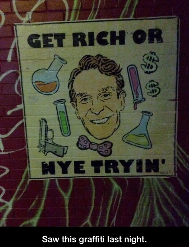 bill nye the thug guy - meme