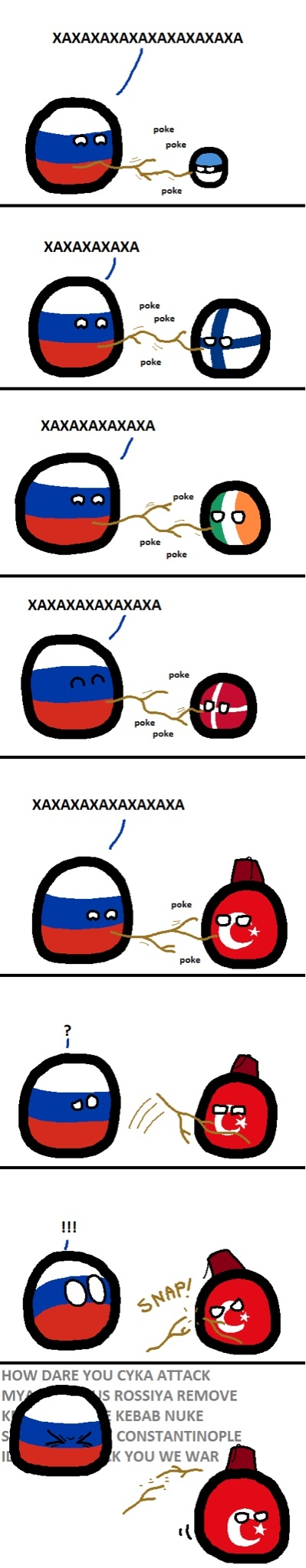 Turkey and Russia - meme