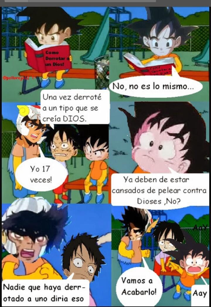 Pobre Goku - meme