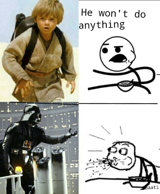 It's darth vader!! - meme