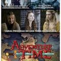 Se hora de aventura fosse na vida real.........