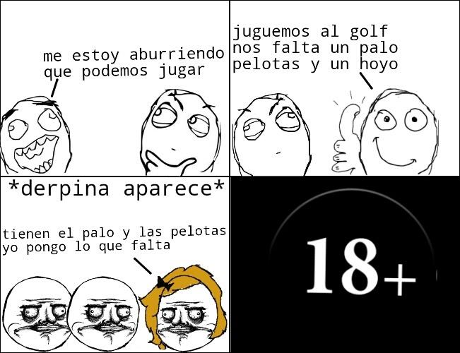 Golf - meme
