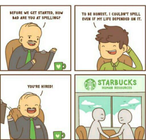 What do you like from Starbucks? - meme