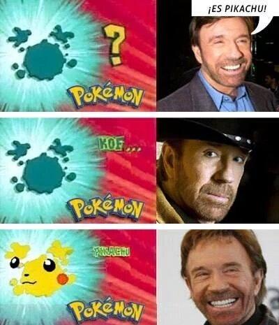 Pikachu :V (sigueme y te sigo) - meme